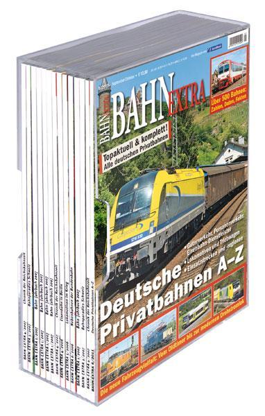 Acrylsammelkassette Bahn Extra