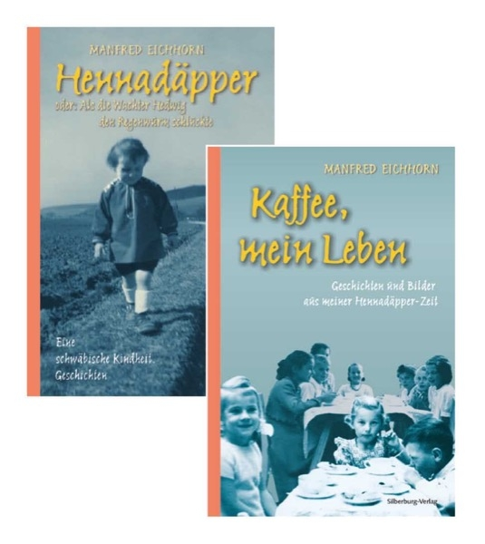 Buchpaket »Hennadäpper« und »Kaffee, mein Leben«