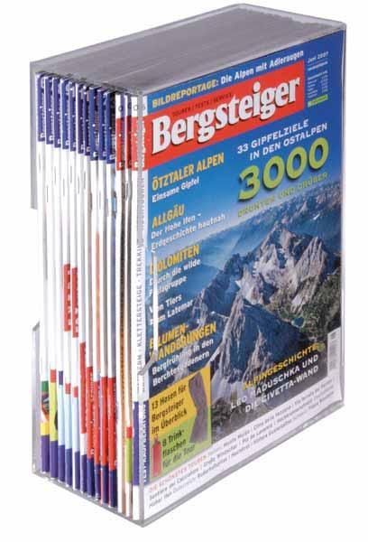 Acrylsammelkassetten für Magazine im günstigen 5er-Pack
