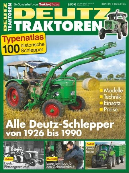 Typenkatalog Deutz-Traktoren