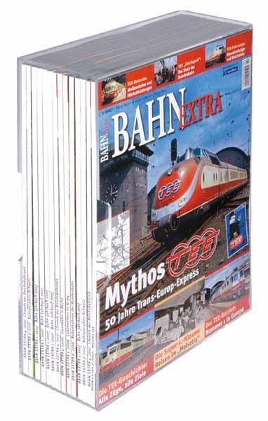 Acrylsammelkassetten für BAHN EXTRA im günstigen 5er-Pack