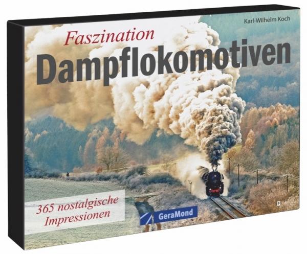Tischaufsteller – Faszination Dampflokomotiven